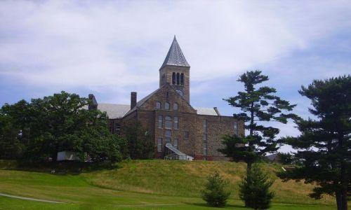 USA / stan Nowy York / Ithaca / na campusie Cornell University w Ithaca