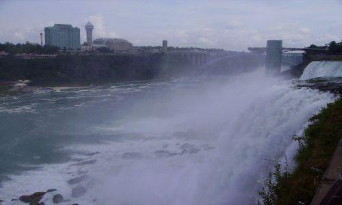 Zdjecie USA / stan Nowy York / Niagara Falls / Niagara Falls po amerykańskiej stronie