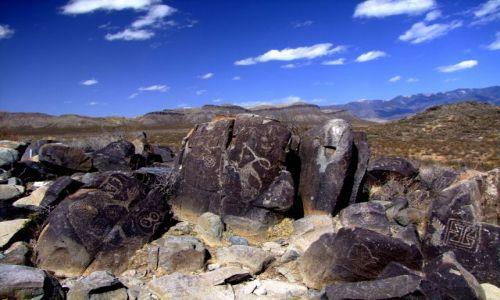 Zdjecie USA / - / Nowy Meksyk / Sacramento Mountains / petroglify