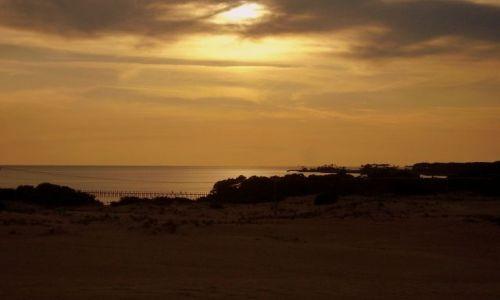 Zdjecie USA / North Carolina / Outer Banks - Kill Devils Hill / tuż przed zachodem słońca