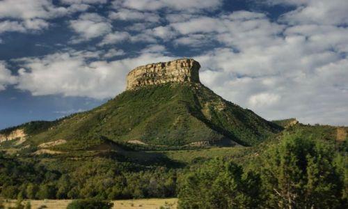 Zdjęcie USA / Kolorado / Mesa Verde / Mesa Verde NP