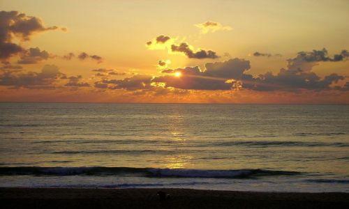 Zdjęcie USA / North Carolina / Outer Banks - Kill Devils Hill / w oczekiwaniu na słońce