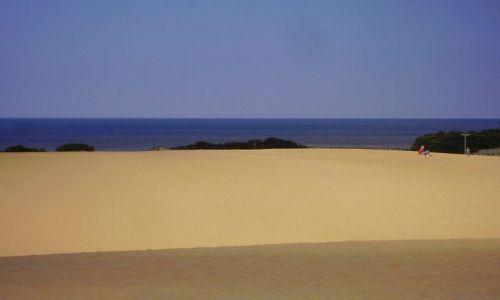 Zdjecie USA / North Carolina / Outer Banks - Park Stanowy Jockey's Ridge / widok na Zatokę Pamlico z Parku Stanowego