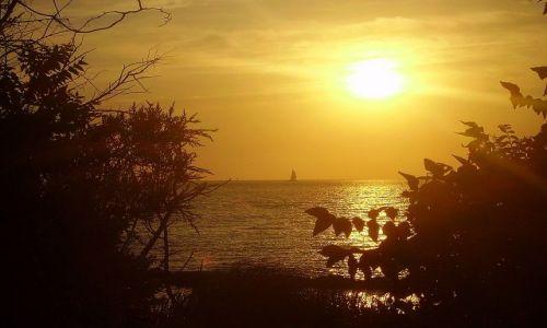 Zdjecie USA / North Carolina / Outer Banks - Ocracoke Island / o zachodzie słońca na Ocracoke Island