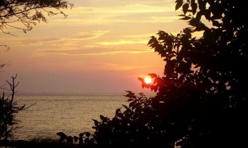 USA / North Carolina / Outer Banks - Ocracoke Island / złapane słońce