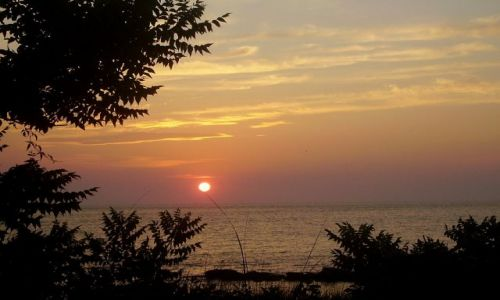 Zdjęcie USA / North Carolina / Outer Banks - Ocracoke Island / słońce na