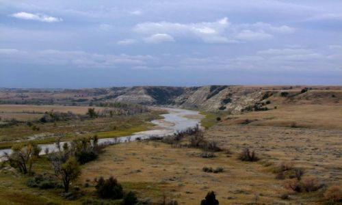 Zdjecie USA / - / North Dakota / Roosevelt NP / Little Missouri