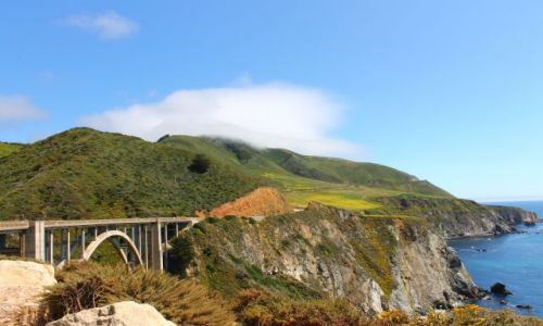 Zdjecie USA / California / Highway 1 / bridge of Highw