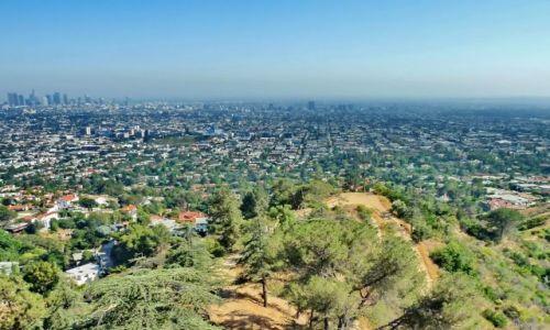 Zdjęcie USA / California / Los Angeles / Panorama LA