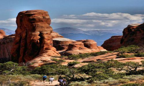 Zdjecie USA / Utah / Arches NP (Devil's Garden) / Arches NP
