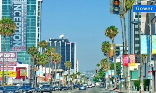 Zdjęcie USA / California / Los Angeles / Sunset Boulevard