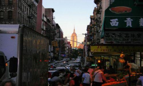 Zdjecie USA / NYC / Chinatown / Inna perspektywa