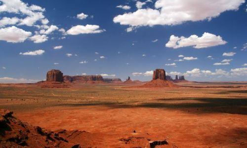 Zdjęcie USA / Arizona / Monument Valley / Sina dal