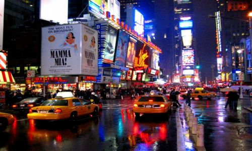 Zdjecie USA / Nowy Jork / Times Square / Konkurs Miasto Noca