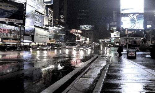 Zdjecie USA / Nowy Jork / Times Square / Konkurs Miast N