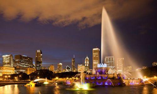 Zdjęcie USA / - / Chicago / Konkurs Chicago nocą 1