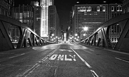 Zdjęcie USA / - / Chicago / Konkurs Chicago nocą 2