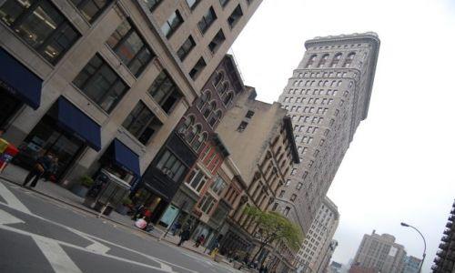 Zdjecie USA / Ameryka Północna / New York Manhattan / Flatironbuiding