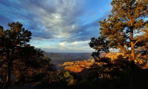 Zdjecie USA / Arizona / Grand Canyon / zachód słońca