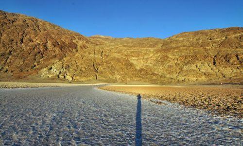 Zdjecie USA / California / Dolina Śmierci / złote góry