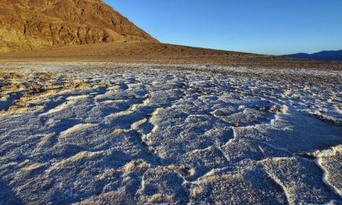 Zdjecie USA / Nevada / Death Valley / jezioro w dolinie śmierci