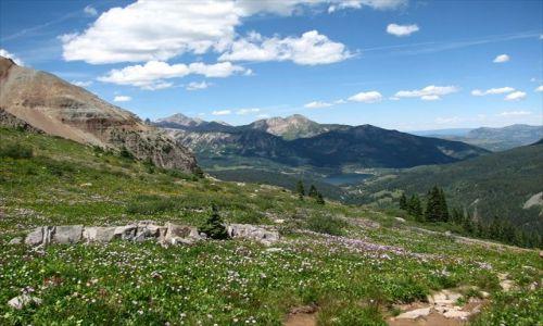 Zdjecie USA / Colorado / Telluride / trout lake