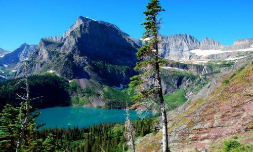 Zdjecie USA / Montana / Grinnel trail / Grinnel Lake