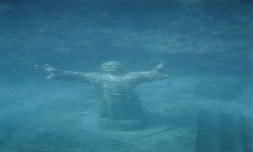 Zdjecie USA / Florida Keys / na wschod od Key Largo / Christ of the Abyss