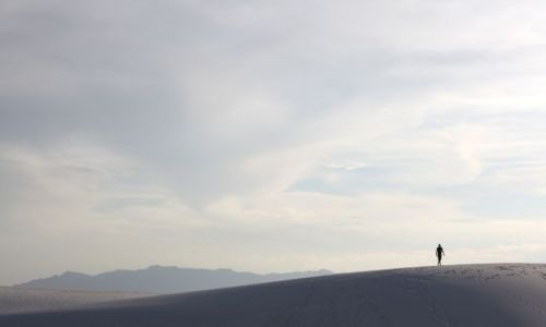 Zdjecie USA / Nowy Meksyk / White Sands / Nowy Meksyk