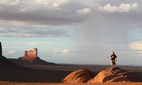 Zdjecie USA / Utah / Monument Valley / Raindance