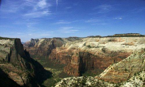Zdjecie USA / utah / zion np / zion valley