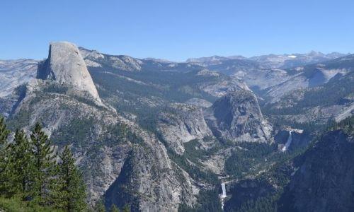 Zdjecie USA / Yosemite National Park / Kalifornia-Sierra Nevada / Glacier Point