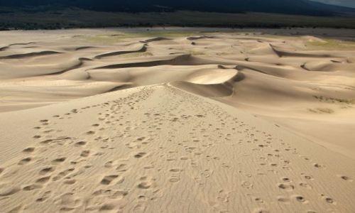USA / - / Kolorado / Geat Sand Dunes / wydmy