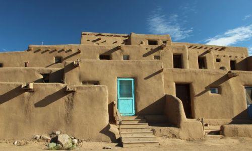 Zdjecie USA / - / Nowy Meksyk / Taos Pueblo / Pueblo de Taos