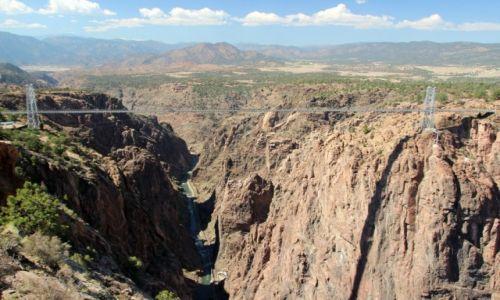 Zdjecie USA / - / Kolorado / Cañon City / Royal Gorge Bridge