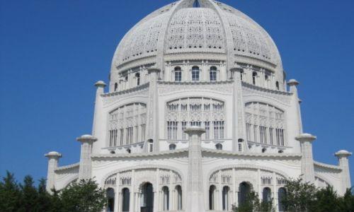 Zdjęcie USA / - / Chicago / Swiątynia wszystkich wyznań w Chicago
