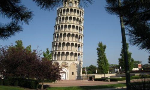Zdjęcie USA / - / Chicago / Krzywa wieża - ale nie w Pizie lecz w Chicago