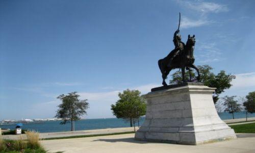 Zdjęcie USA / - / Chicago / Pomnik Kościuszki w Chicago