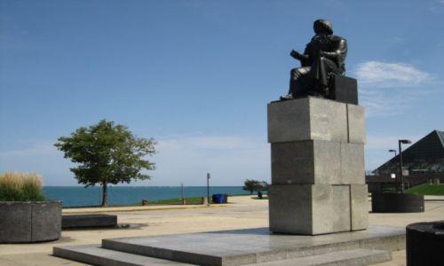 Zdjęcie USA / - / Chicago / Pomnik Chopina w Chicago