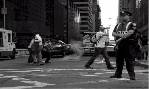 Zdjecie USA / NEW YORK / Manhattan - New York / Dymi�cy kana�