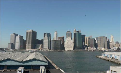 Zdjecie USA / New York / New York - Brooklyn / Manhattan widok