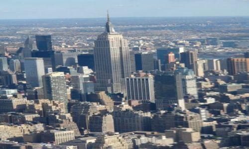Zdjecie USA / Nowy Jork / Nowy Jork / Lot nad NY