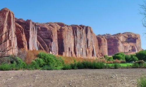 Zdjęcie USA / Utah / Moab / Ściana skalna