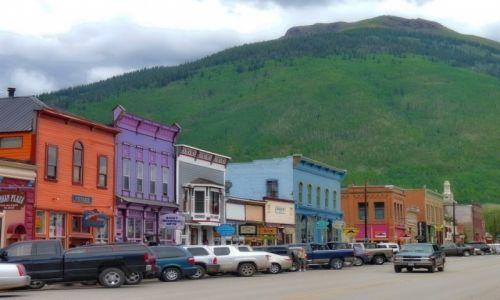 Zdjecie USA / Colorado / Silverton / Ulica w Silverton