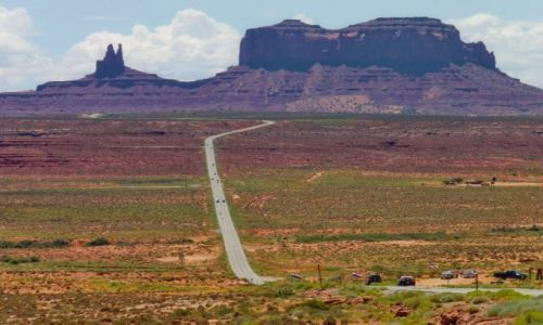 Zdjęcie USA / Utah / Flagstaff / Droga przez płaskowyż