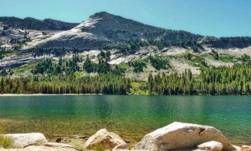 Zdjecie USA / California / Yosemite / Górskie jezioro