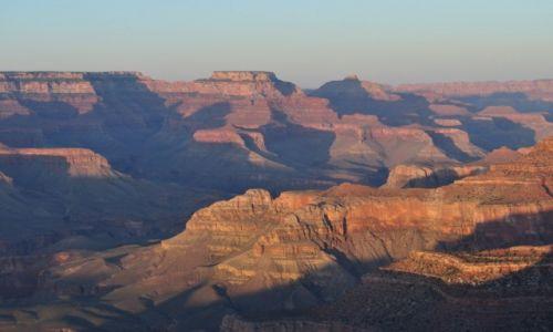 Zdjecie USA / Arizona / Grand Canyon / Zach�d s�o�ca n