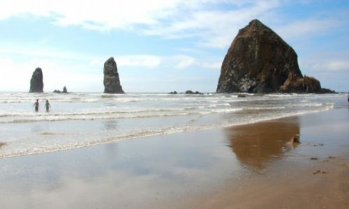 Zdjecie USA / Oregon / Oregon Beach / Cannon beach