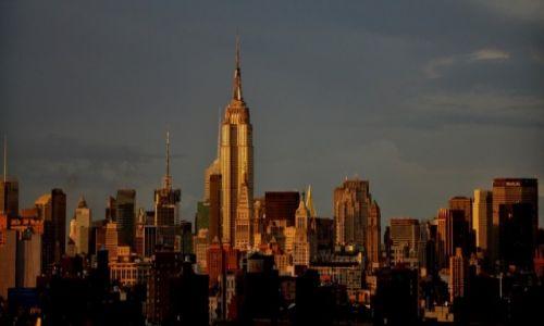 Zdjecie USA / NYC  / NYC  / NYC w promieniach zachodzącego słońca