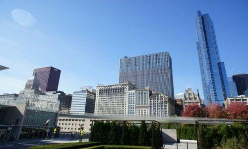 Zdjęcie USA / Illinois / Chicago / Okolice Millenium Park